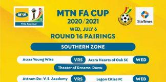 MTN FA Cup R16